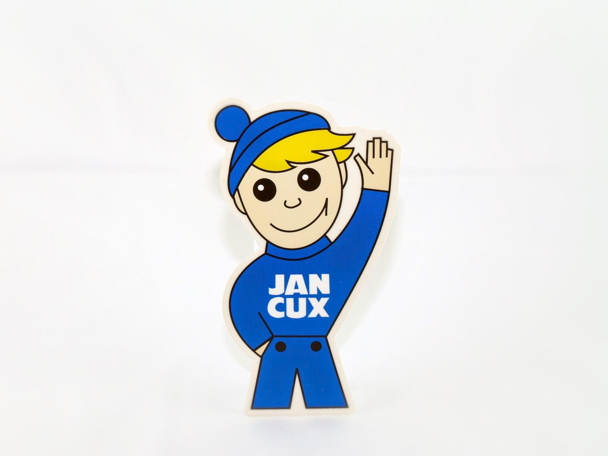 Aufkleber Jan Cux Klein