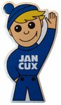 "Fridgemagnet ""Jan Cux"""